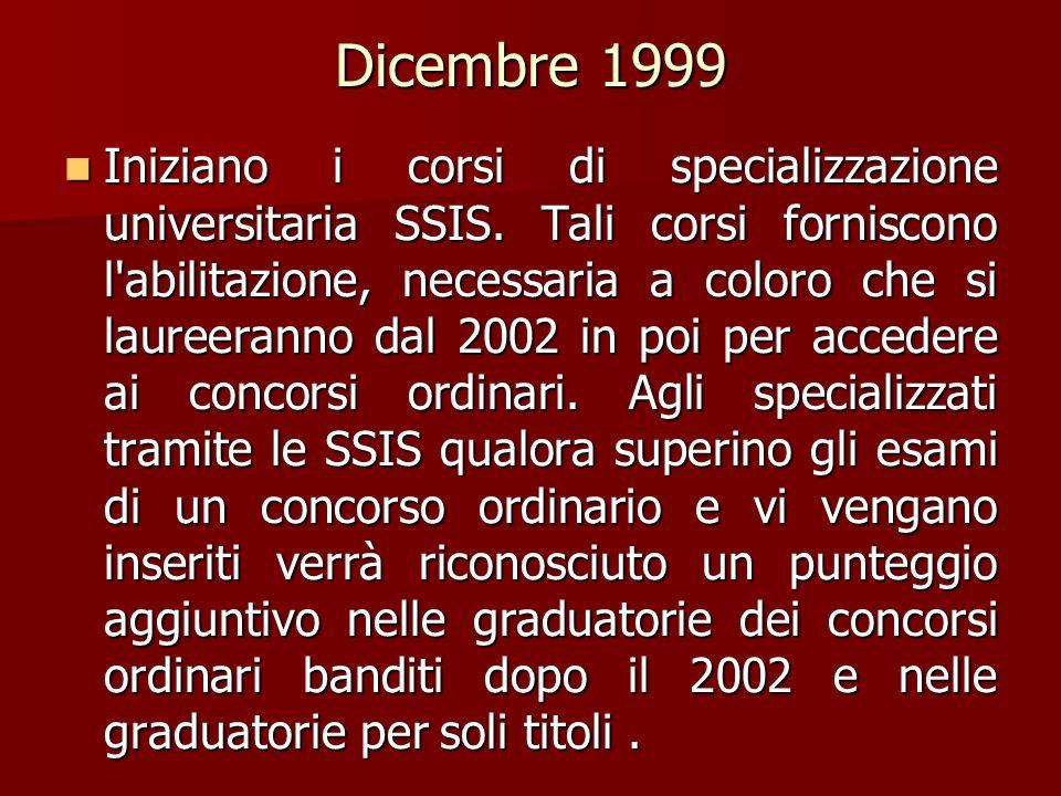 Dicembre 1999