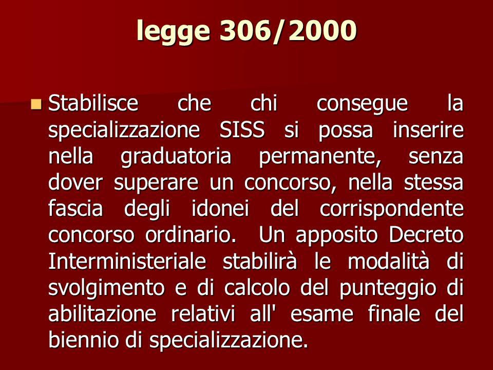 legge 306/2000
