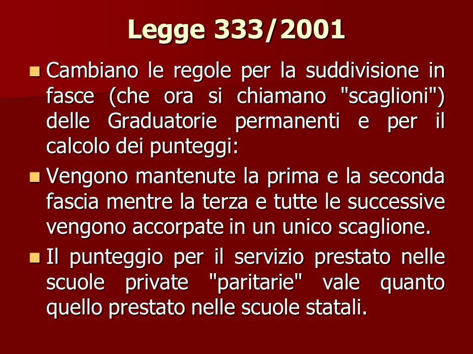 Legge 333/2001