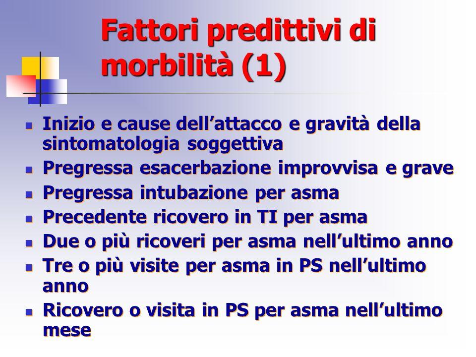 Fattori predittivi di morbilità (1)