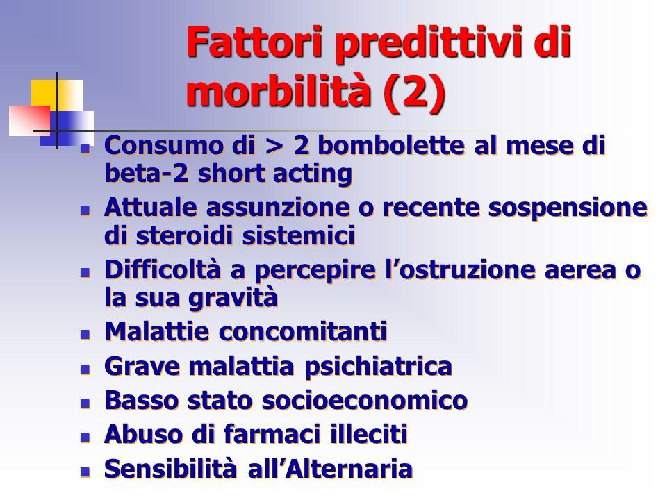Fattori predittivi di morbilità (2)