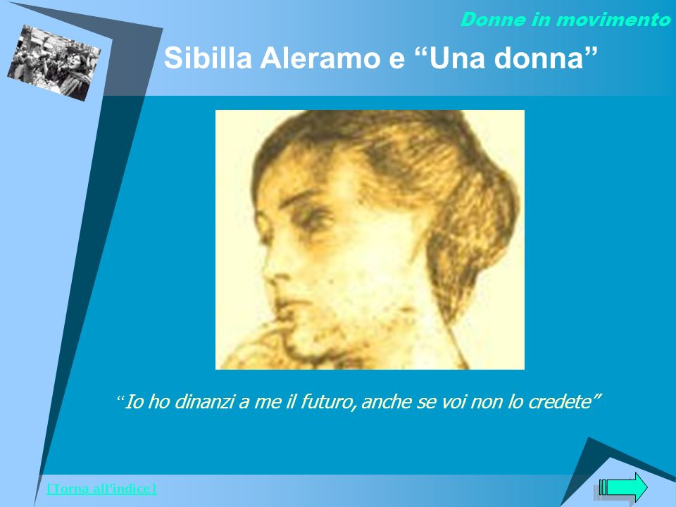 Sibilla Aleramo e Una donna