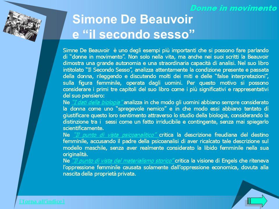 Simone De Beauvoir e il secondo sesso
