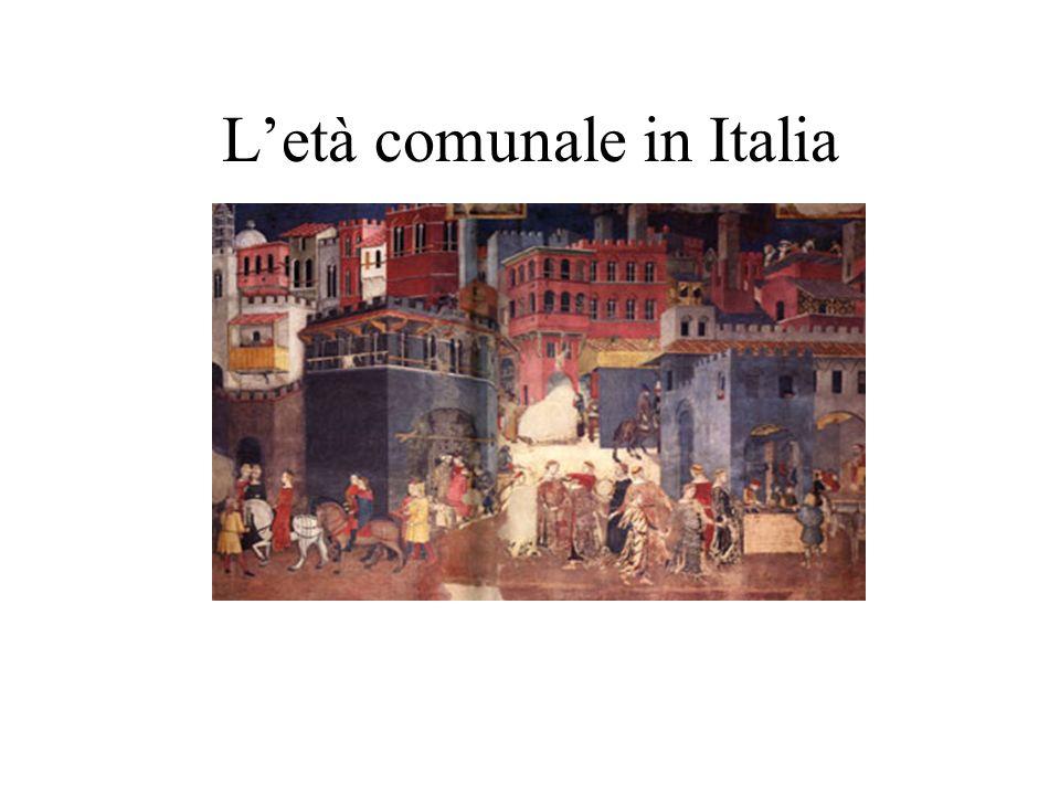 L'età comunale in Italia