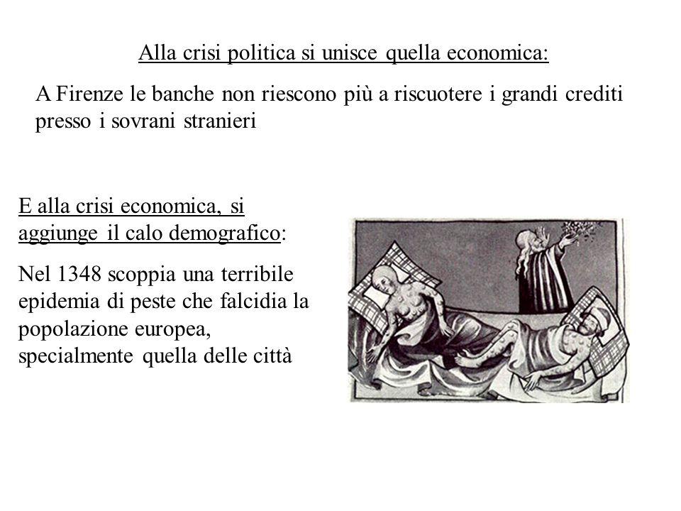 Alla crisi politica si unisce quella economica: