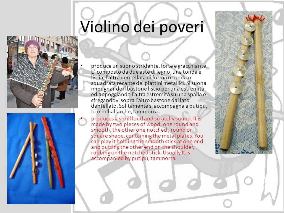 Violino dei poveri