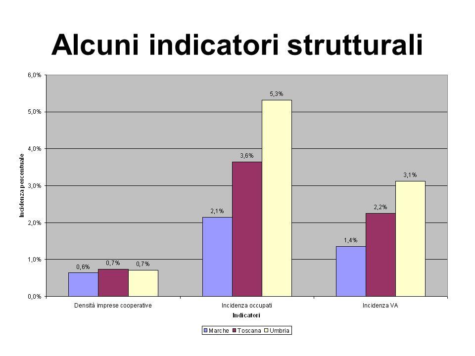 Alcuni indicatori strutturali