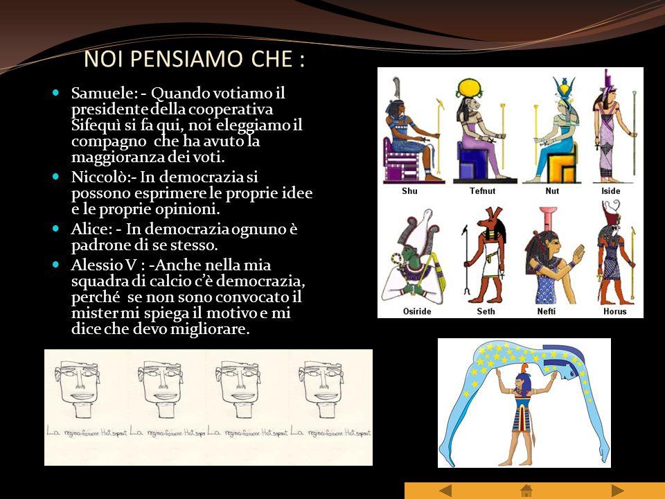 NOI PENSIAMO CHE :