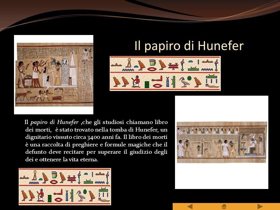 Il papiro di Hunefer