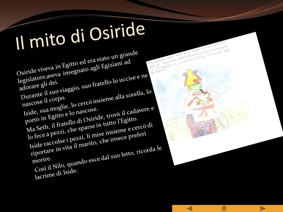 Il mito di Osiride