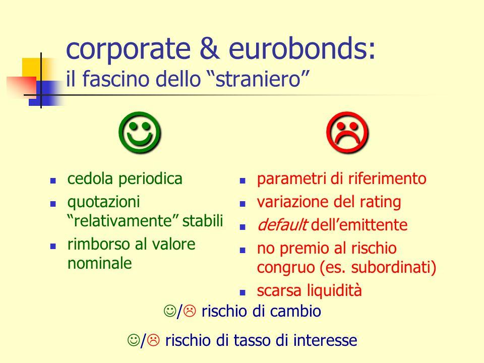 corporate & eurobonds: il fascino dello straniero