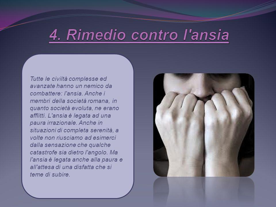 4. Rimedio contro l ansia