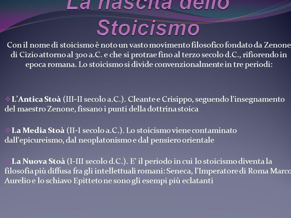 La nascita dello Stoicismo