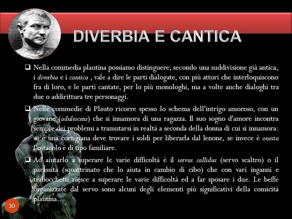 DIVERBIA E CANTICA