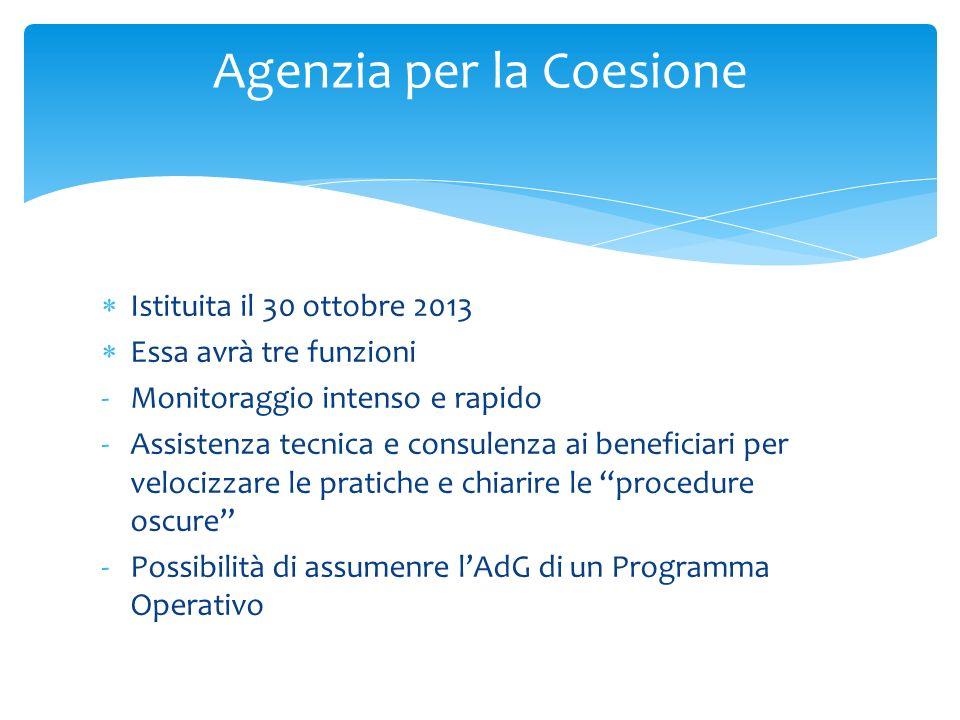 Agenzia per la Coesione