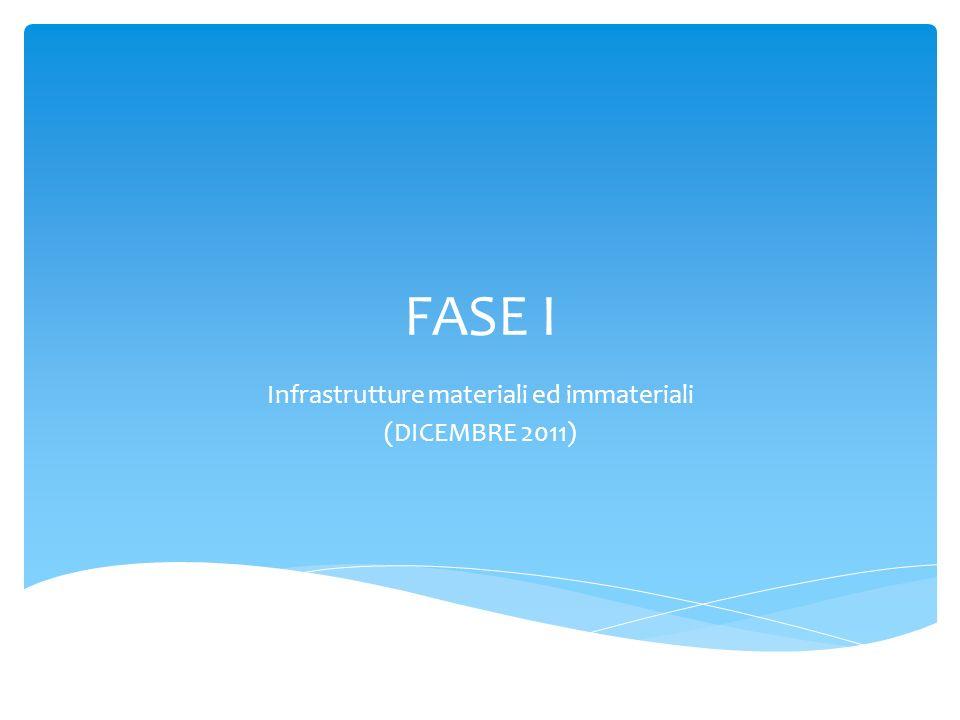 Infrastrutture materiali ed immateriali (DICEMBRE 2011)