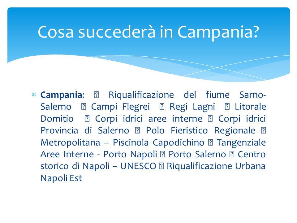 Cosa succederà in Campania