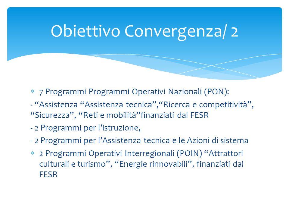 Obiettivo Convergenza/ 2