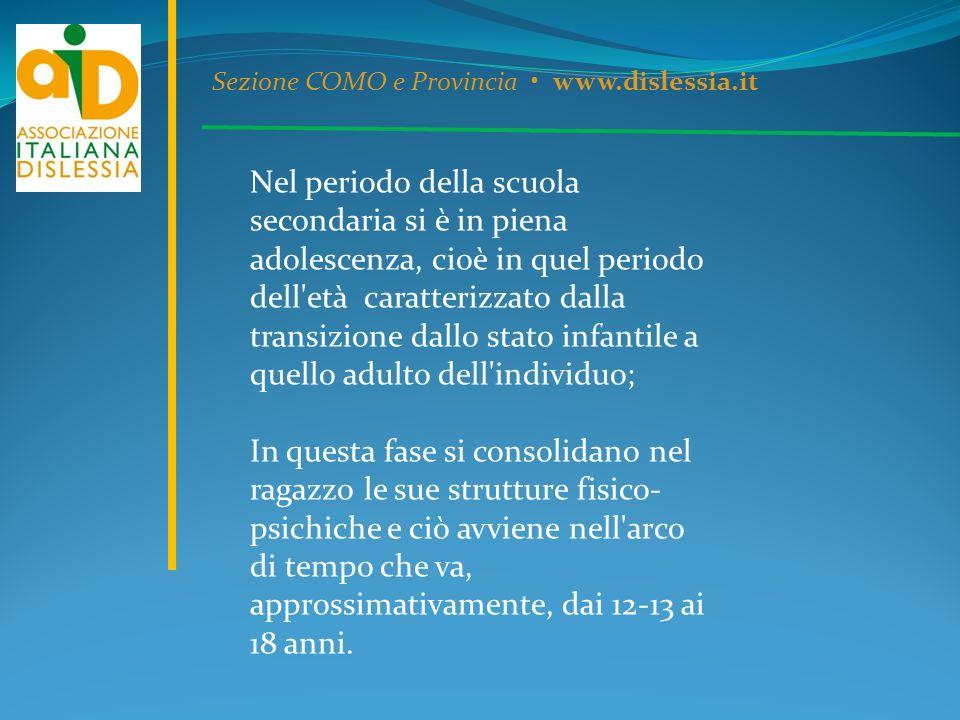Sezione COMO e Provincia • www.dislessia.it