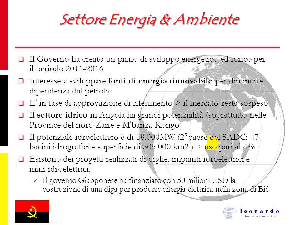 Settore Energia & Ambiente