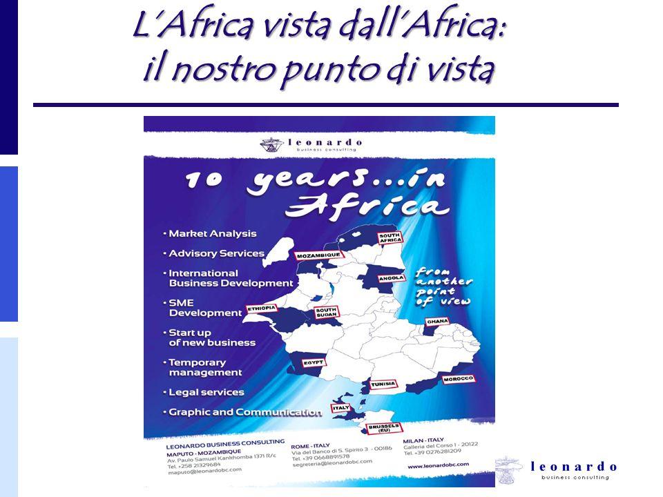 L'Africa vista dall'Africa: il nostro punto di vista