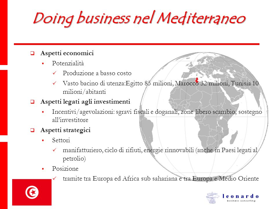 Doing business nel Mediterraneo