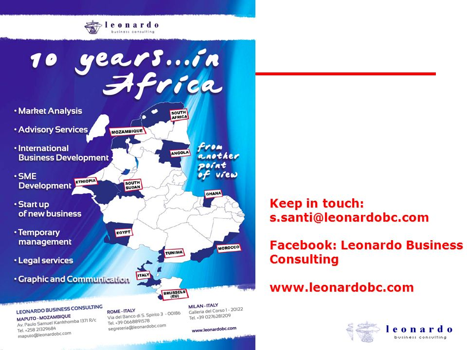 Keep in touch: s.santi@leonardobc.com