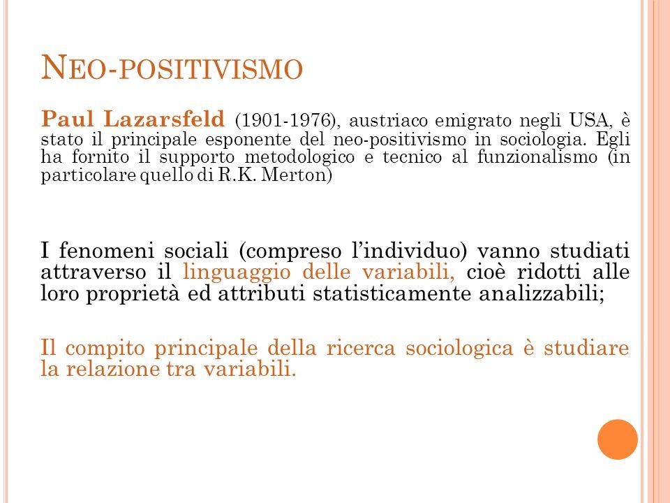Neo-positivismo