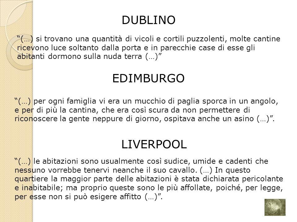 LIVERPOOL DUBLINO EDIMBURGO