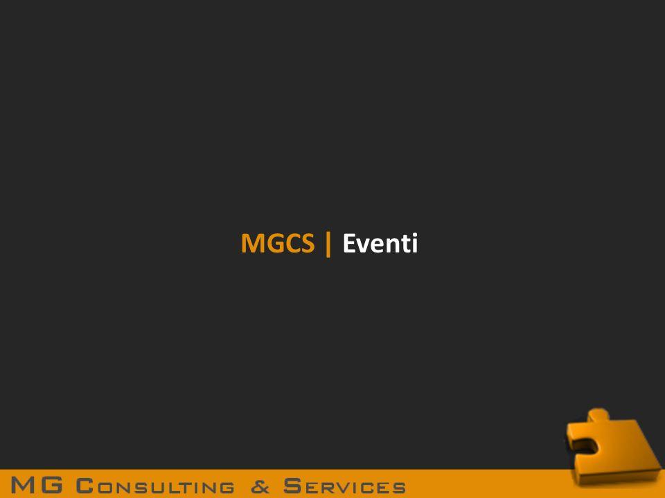 MGCS | Eventi