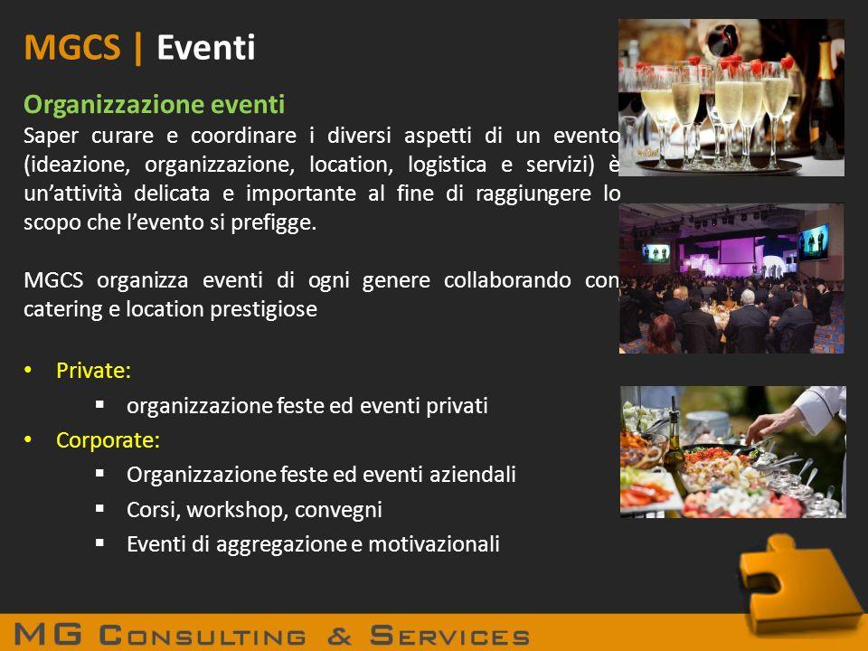 MGCS | Eventi Organizzazione eventi