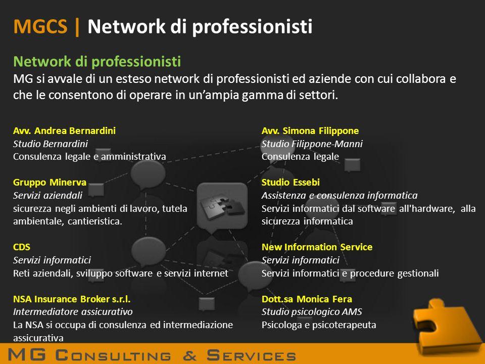 MGCS | Network di professionisti
