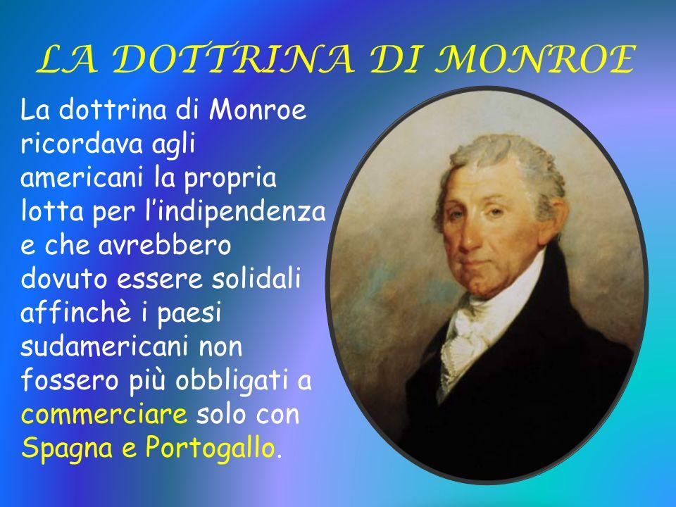 LA DOTTRINA DI MONROE