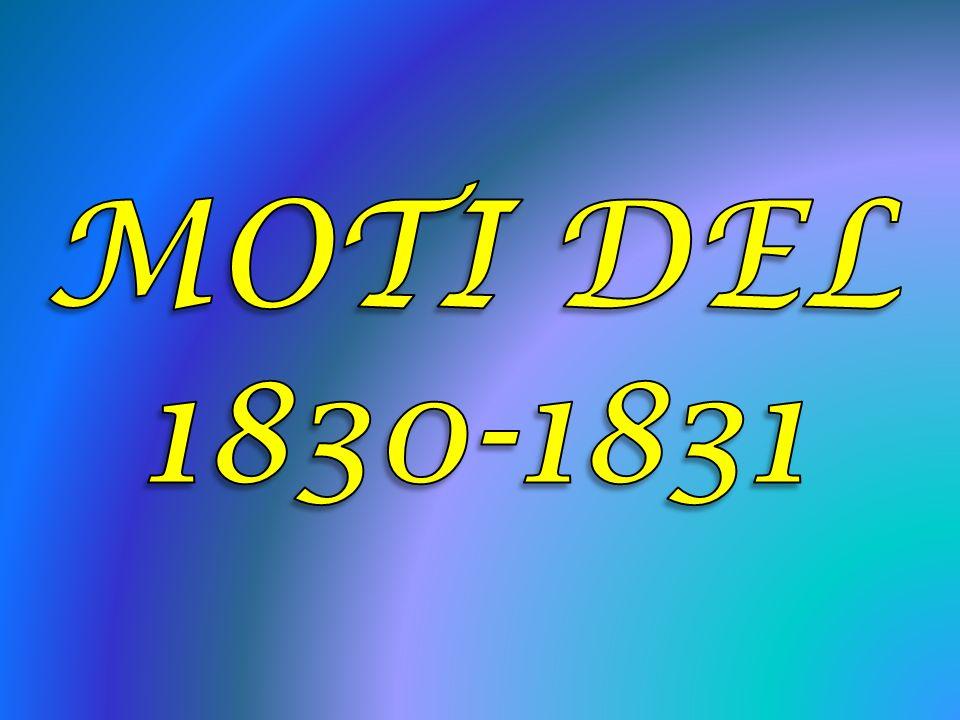 MOTI DEL 1830-1831