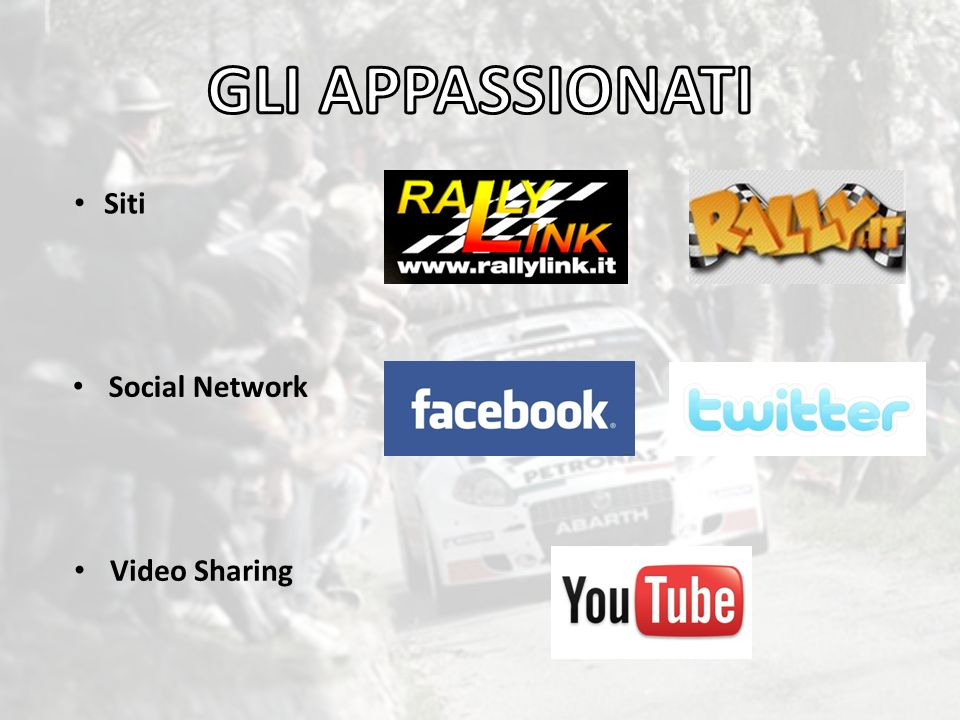 GLI APPASSIONATI Siti Social Network Video Sharing