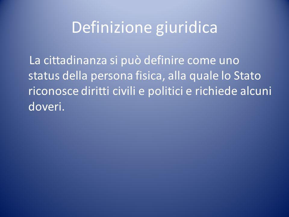 Definizione giuridica