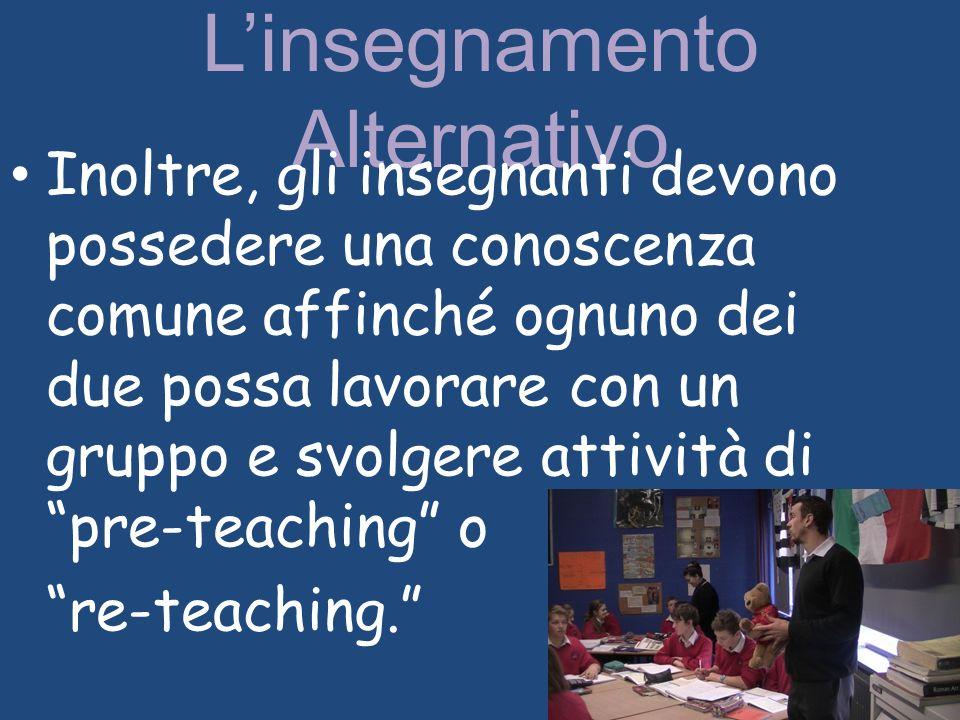 L'insegnamento Alternativo