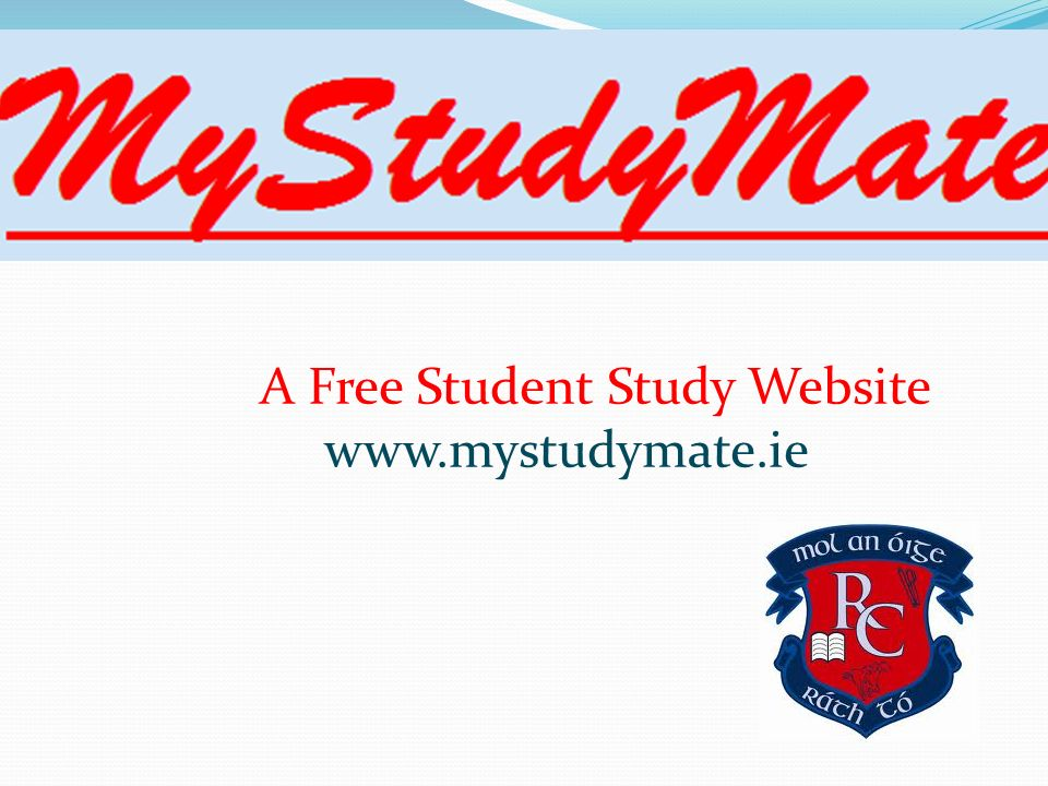 A Free Student Study Website