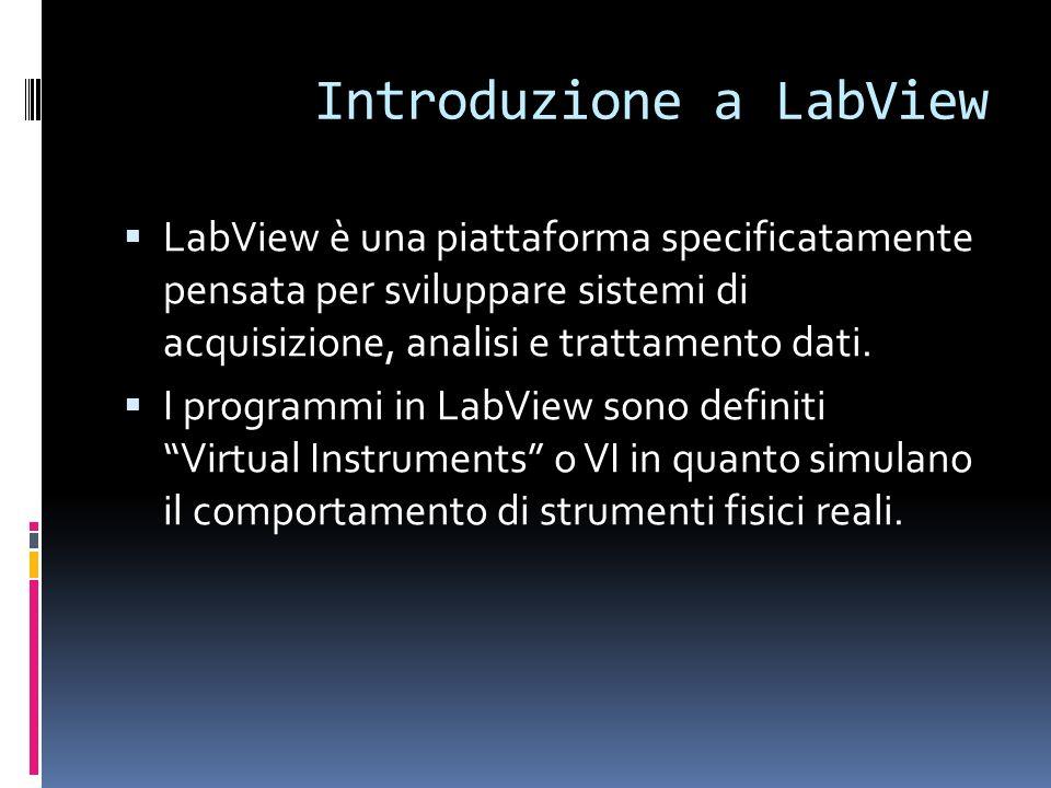 Introduzione a LabView