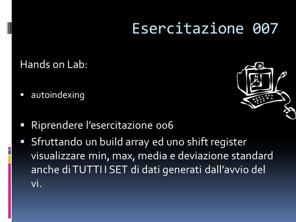 Esercitazione 007 Hands on Lab: Riprendere l'esercitazione 006