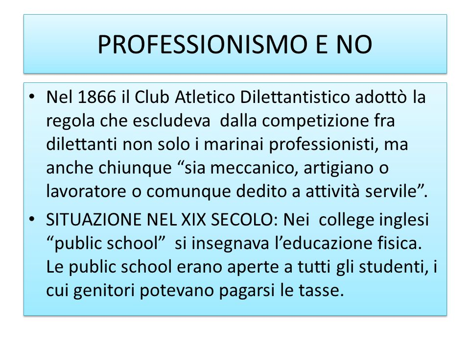 PROFESSIONISMO E NO
