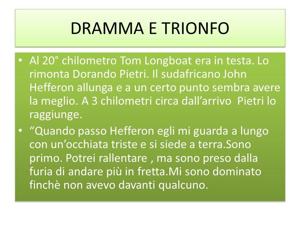 DRAMMA E TRIONFO