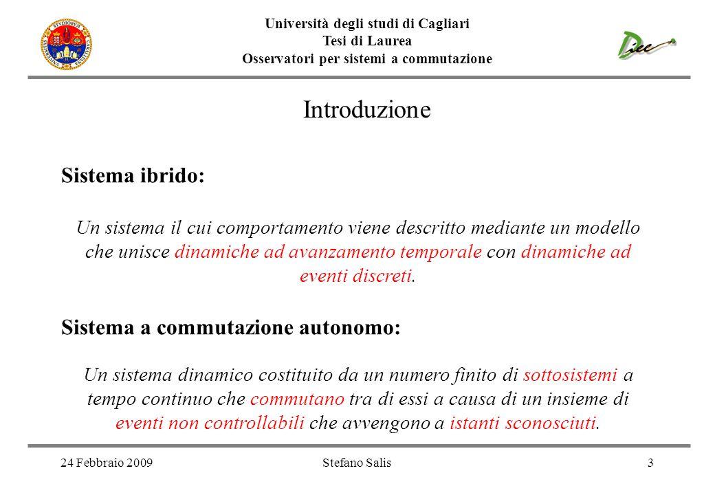 Introduzione Sistema ibrido: Sistema a commutazione autonomo: