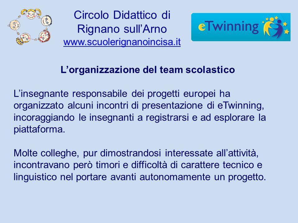 L'organizzazione del team scolastico