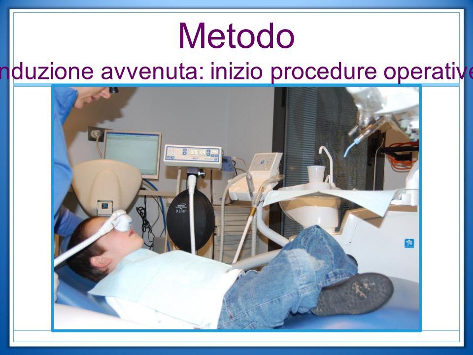 Induzione avvenuta: inizio procedure operative