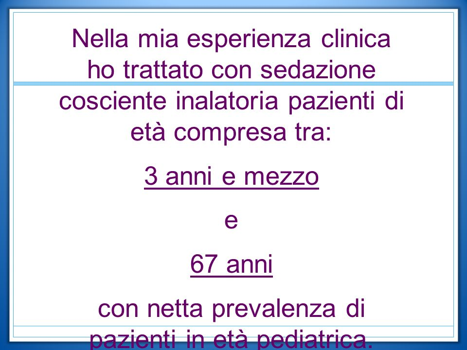 con netta prevalenza di pazienti in età pediatrica.