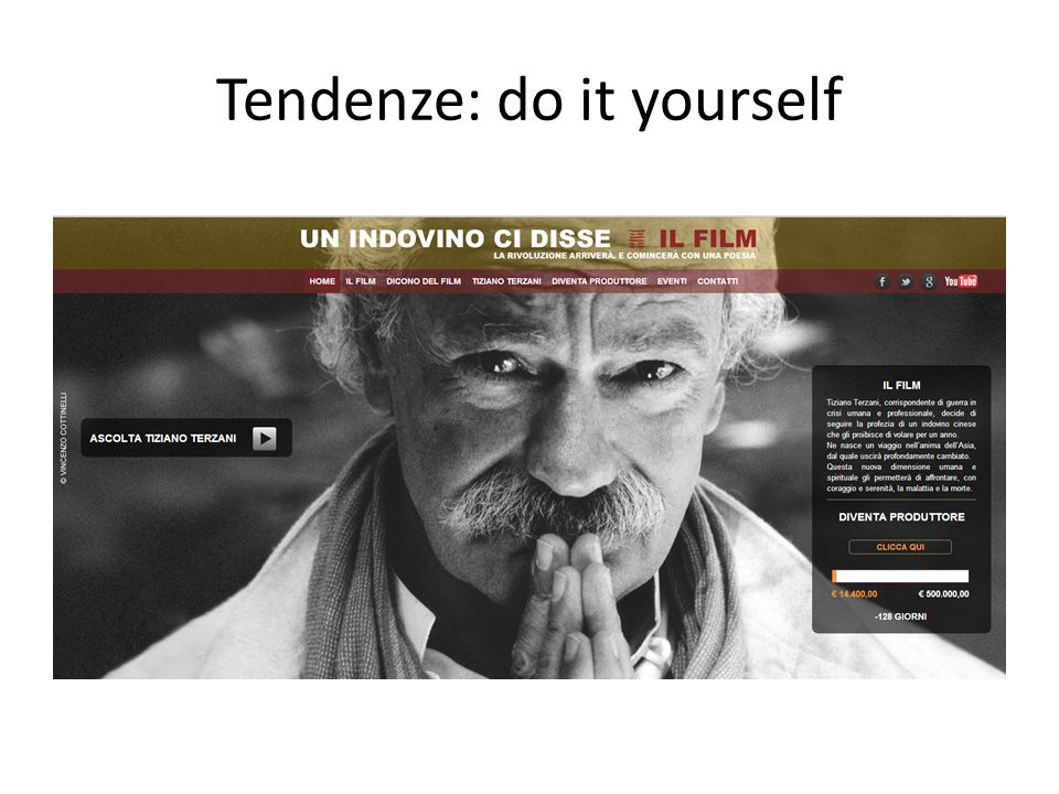 Tendenze: do it yourself