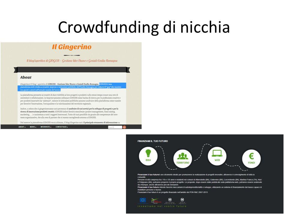 Crowdfunding di nicchia
