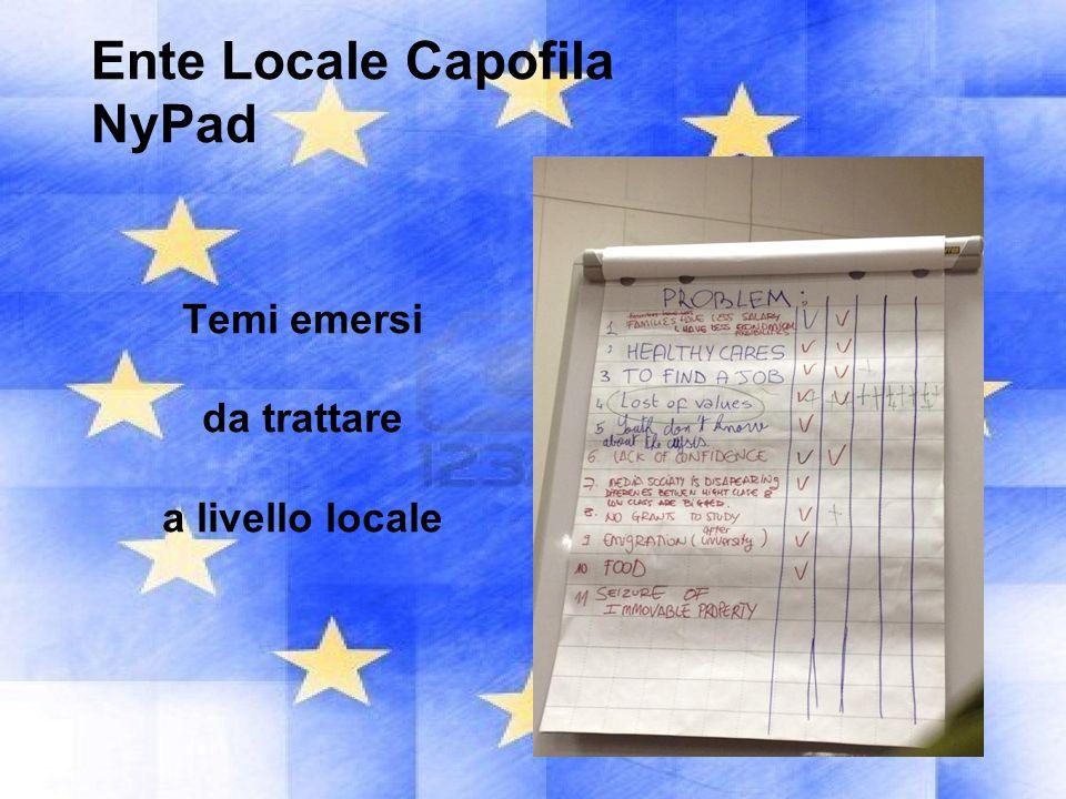 Ente Locale Capofila NyPad