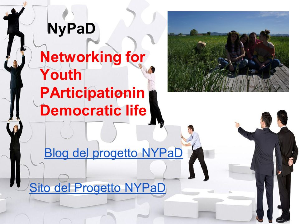 NyPaD Networking for Youth PArticipationin Democratic life